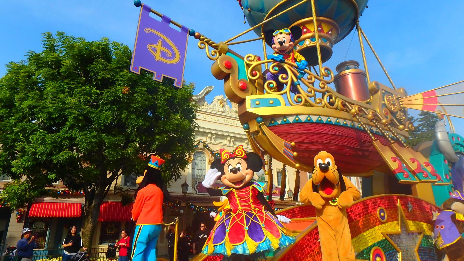 香港ディズニーチケットを一番安く買う方法とお土産・アトラクション