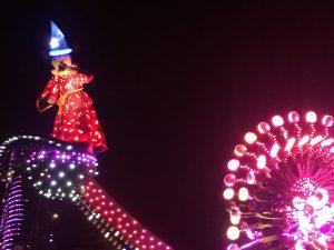 香港ディズニーランド 夜のパレード