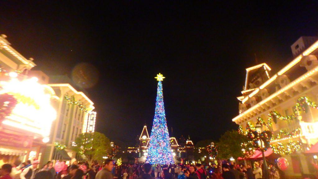 クリスマスの香港ディズニー旅行ブログ