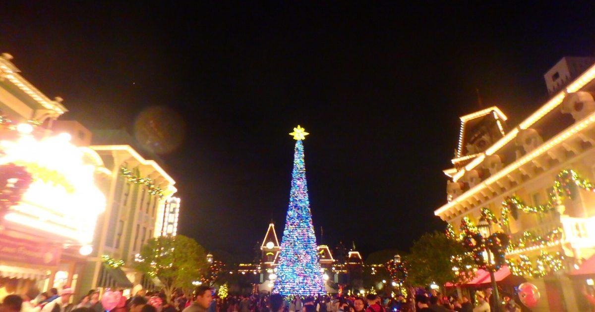 クリスマス 香港ディズニー
