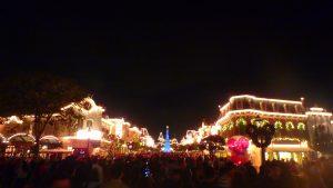 クリスマスの香港ディズニー