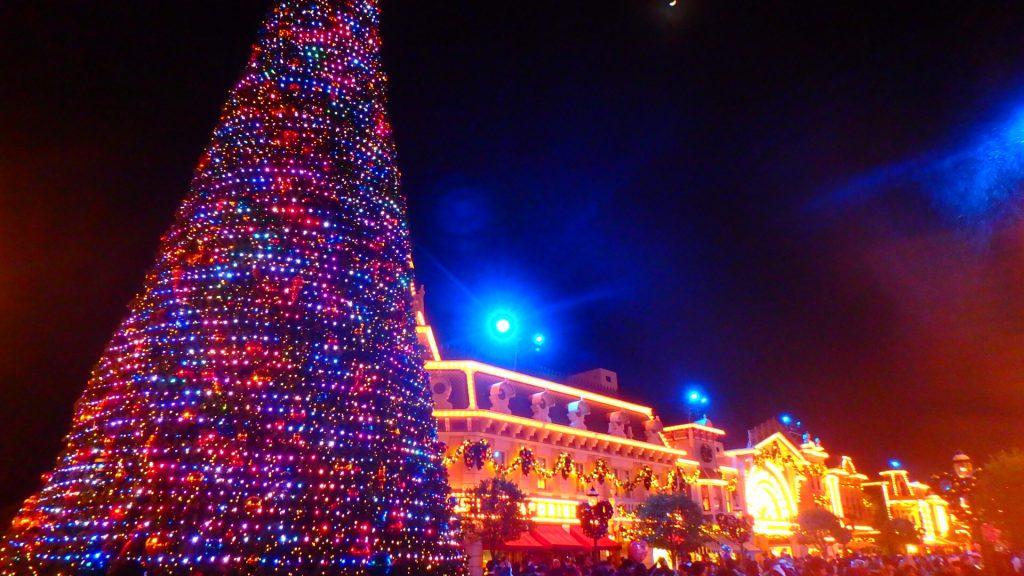 クリスマスの香港ディズニーランド旅行記