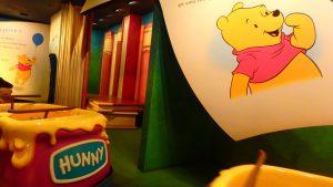 香港ディズニー プーさんのハニーハント