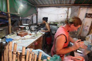 カンボジア Kampot 美味しいピザ ciao