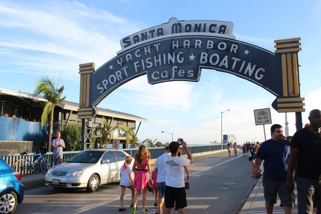 ロサンゼルス サンタモニカピアへのアクセス