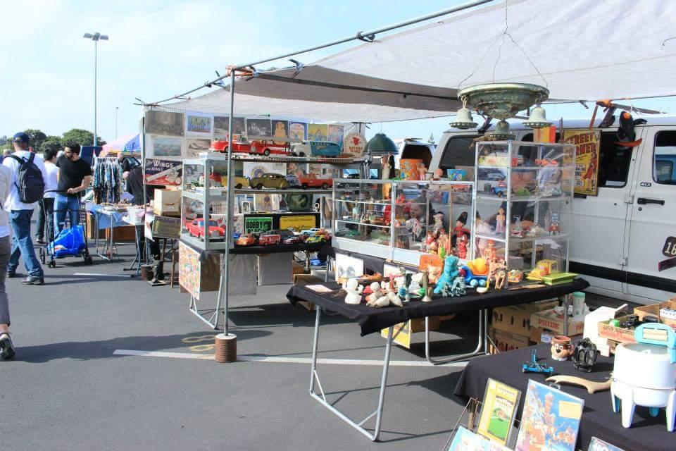 バイヤーにおすすめ ロサンゼルスのアンティークマーケット