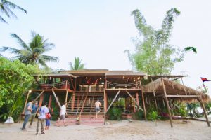 カンボジア Kampotのおすすめホテル sabay beach