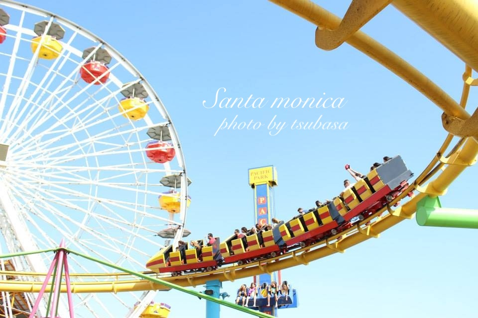 サンフランシスコの遊園地 Six Flags