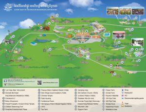 カンボジア Kampotのトレッキングコース
