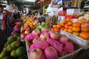 カンボジア Kampot 市場