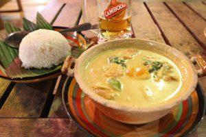 カンボジア KampotでフリーWi-Fiのあるカフェ
