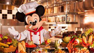 香港ディズニーランド キャラクターに会えるレストラン