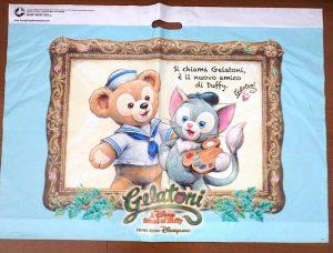 香港ディズニー ショップ袋 shop bag