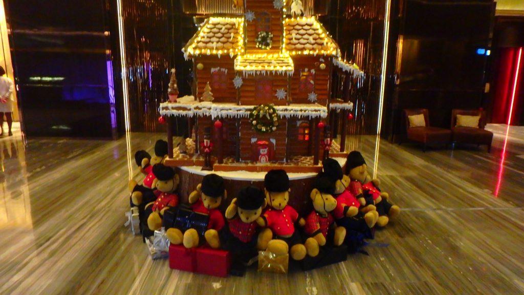 香港リッツカールトン クリスマス旅行
