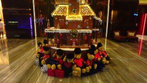 リッツカールトン香港 102階 103階 クリスマス