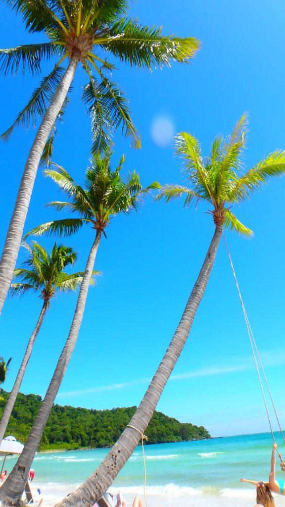 サオビーチ ブランコの写真撮影スポット