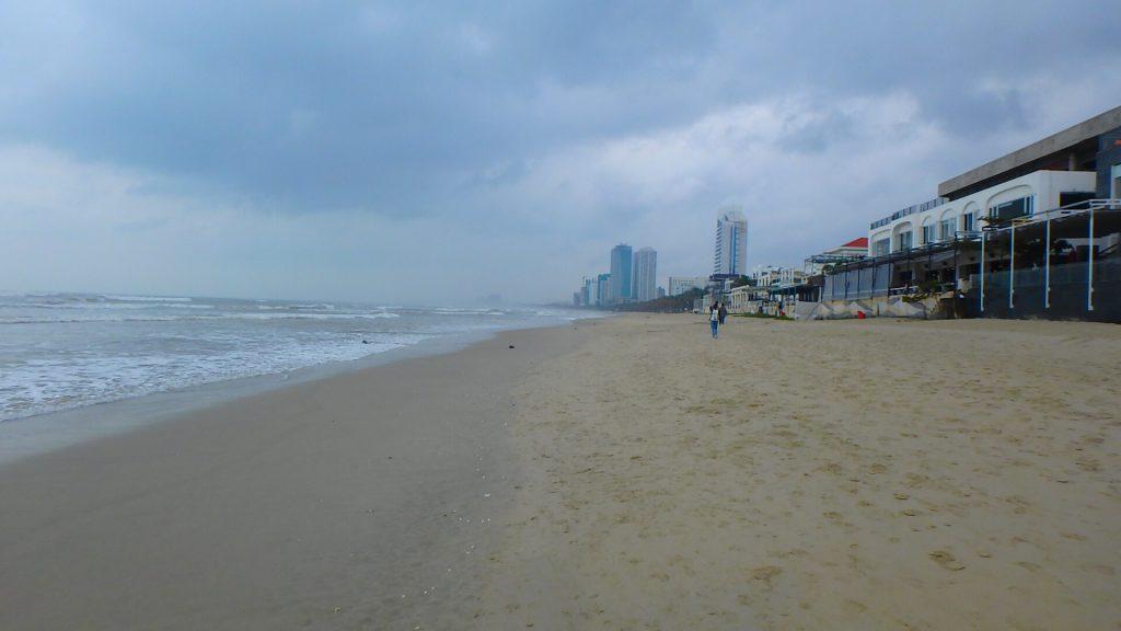 ダナンのビーチから近いホテル