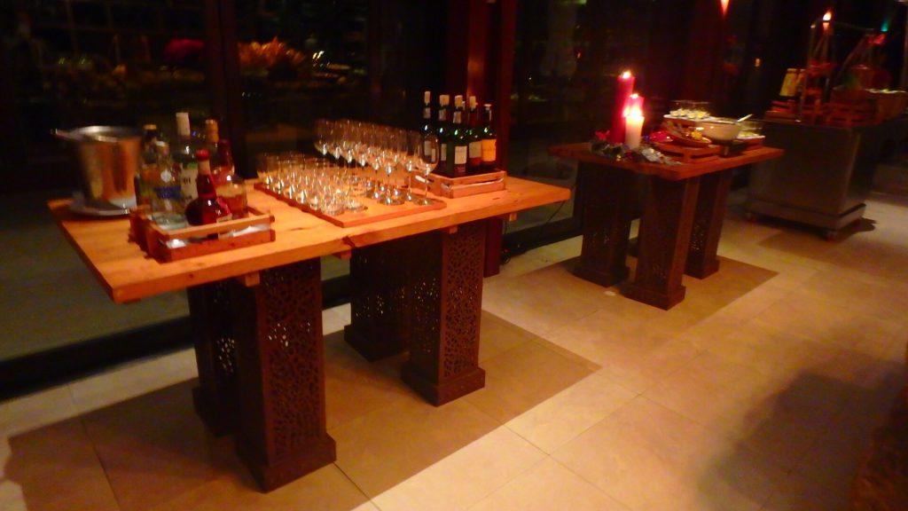 海外ホテルのクラブフロア お酒やおつまみも無料