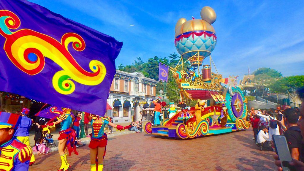 香港ディズニー パレード