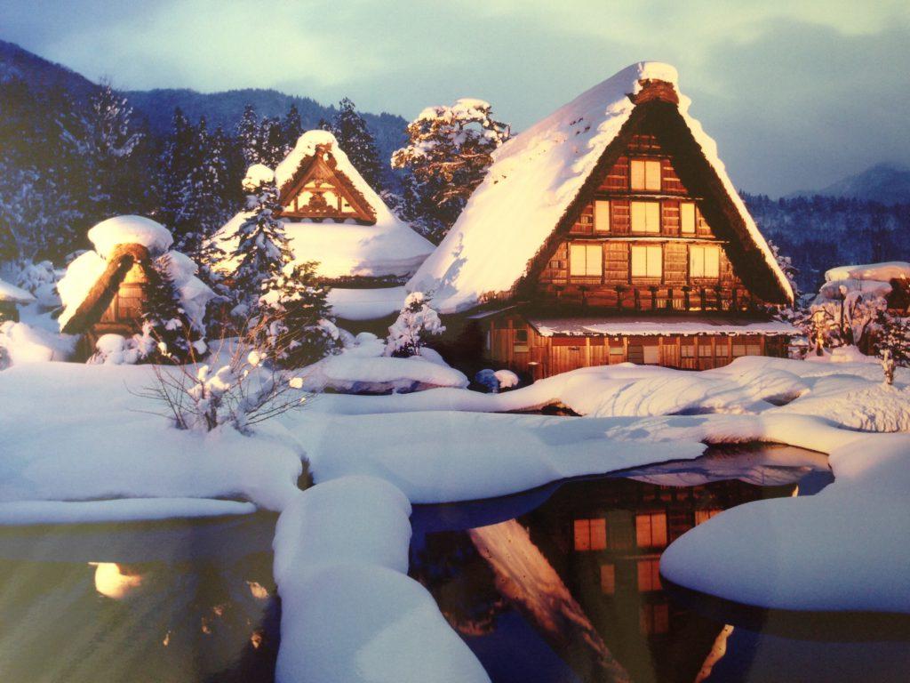 白川郷のライトアップ 2月におすすめの国内旅行先