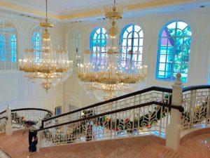 香港ディズニーランドホテル シャンデリア