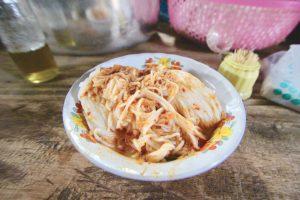 カンボジア Kampotの屋台のご飯が美味しい