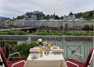 ザルツブルグ城が見えるおすすめのホテル