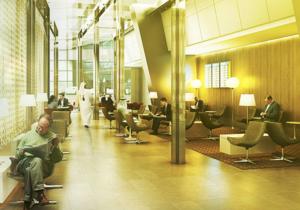 ドーハ ハマド国際空港  Al Mahaラウンジ