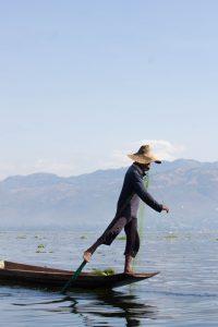 インレー湖のおすすめ観光 フィッシャーマン