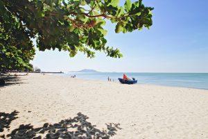 カンボジア ケップのビーチ