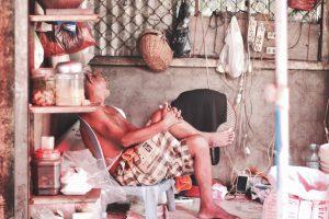 カンボジア ケップのマーケットを観光