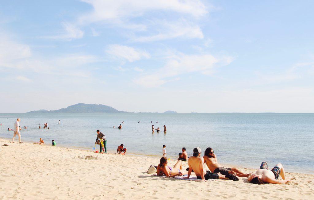 カンボジア ケップのおすすめ観光 ビーチ