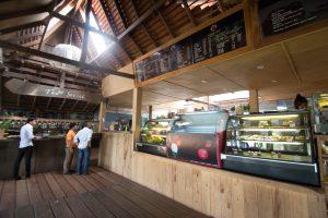 カンボジア ケップ Veranda Natural Resortのカフェ