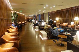 ドーハ ハマド国際空港 Oryx Lounge