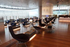 ドーハ ハマド国際空港 カタール航空ビジネスクラスラウンジ