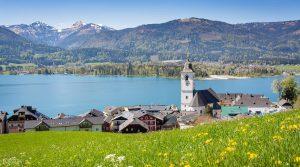 ザルツブルクの湖 Lake Wolfgangsee