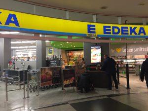 ミュンヘン空港内にあるスーパーマーケット