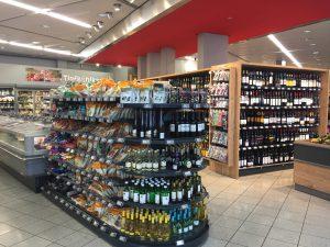 ミュンヘン空港のスーパー ワインやおつまみのお土産