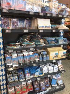 ミュンヘン空港内のスーパーでお土産が安く買える