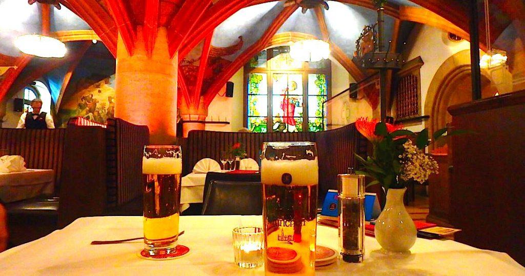 ミュンヘン 本場のオリジナルビールが飲めるレストラン