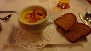 ドイツ・ミュンヘン 名物のじゃがいもスープ