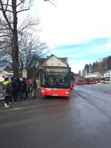 フッセンからお城行きのバス 乗り方と場所