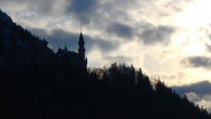 テーゲルベルクから見るノイシュヴァンシュタイン城