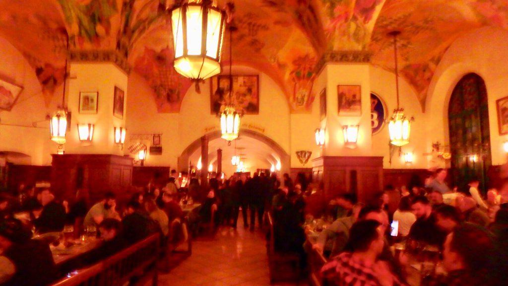 ミュンヘンで一番おすすめのビアレストラン ホフブロイハウス