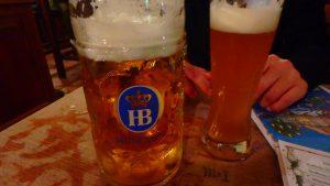 ミュンヘン 安くて美味しいドイツビールレストラン