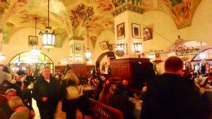 ミュンヘンで一番人気のビアホール ホフブロイハウス