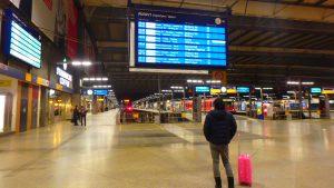 ミュンヘン中央駅 電車の乗り方