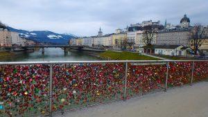 ザルツブルグ観光 絶景の橋と写真撮影スポット