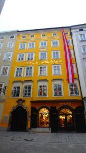 ミュンヘン近郊の観光 モーツァルトの家