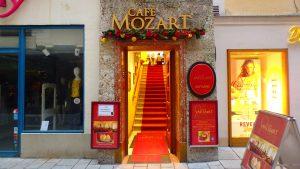 ザルツブルグのおすすめカフェ&レストラン モーツァルト